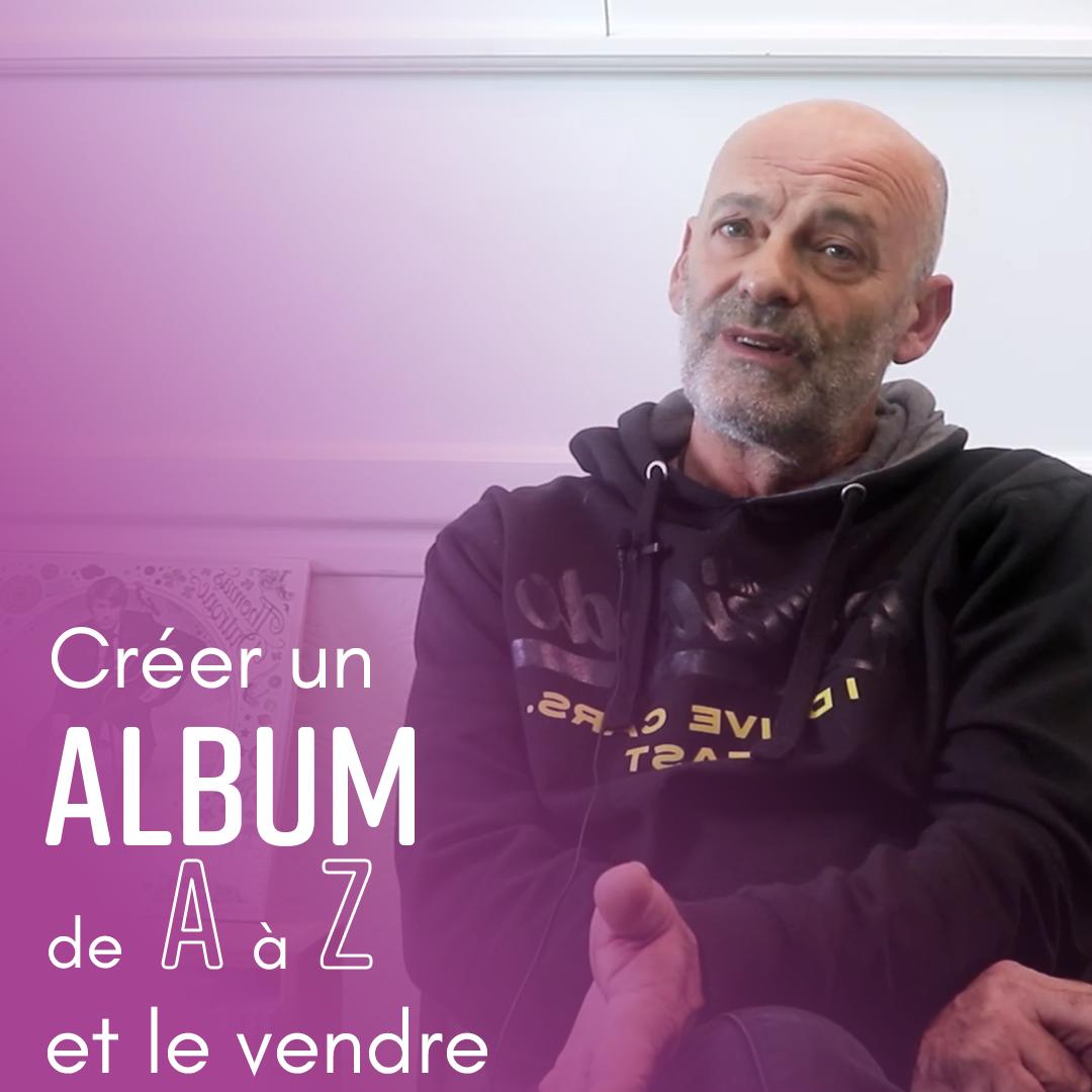 Créer un album de A à Z et le vendre - Romuald Heuchin - Indie Up