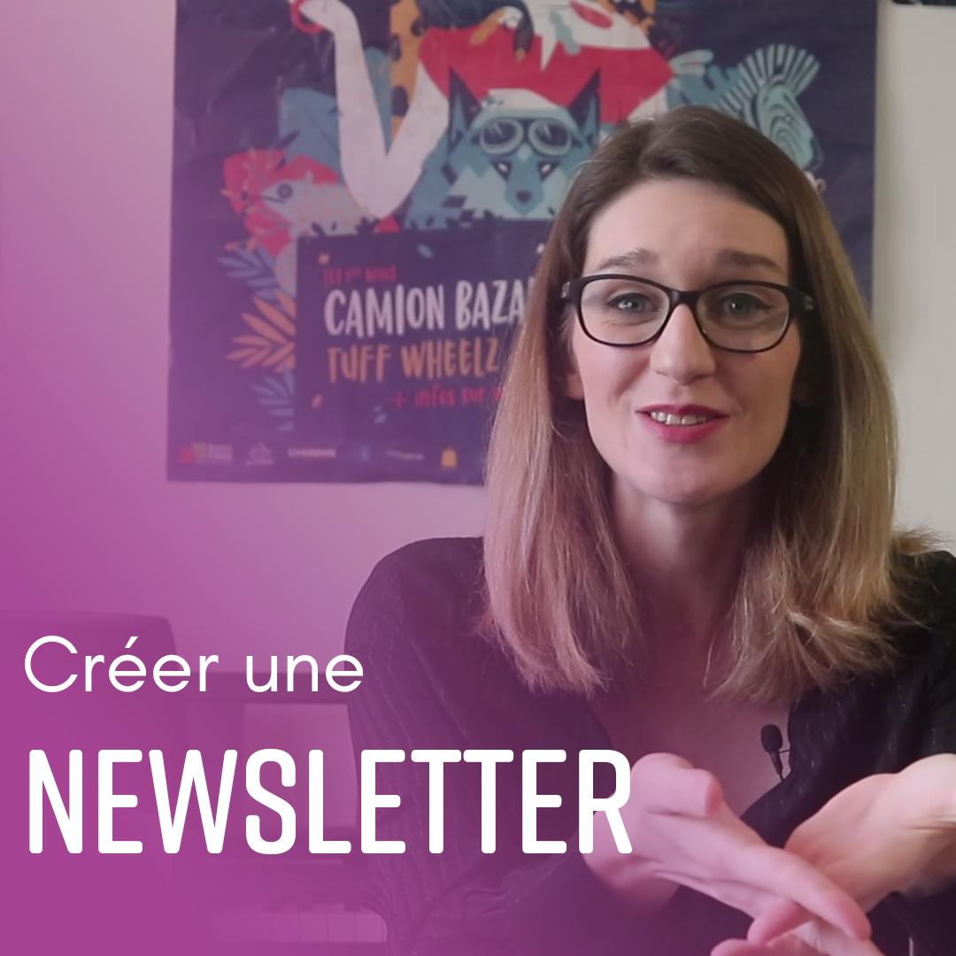 Créer une newsletter - Amélie Martin - Indie Up
