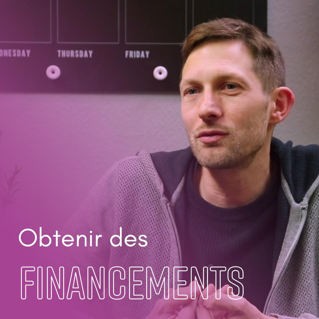 Obtenir des financements - Martin Rossi - Indie Up
